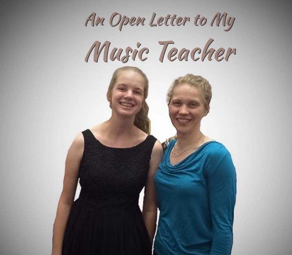 An Open Letter to My Music Teacher